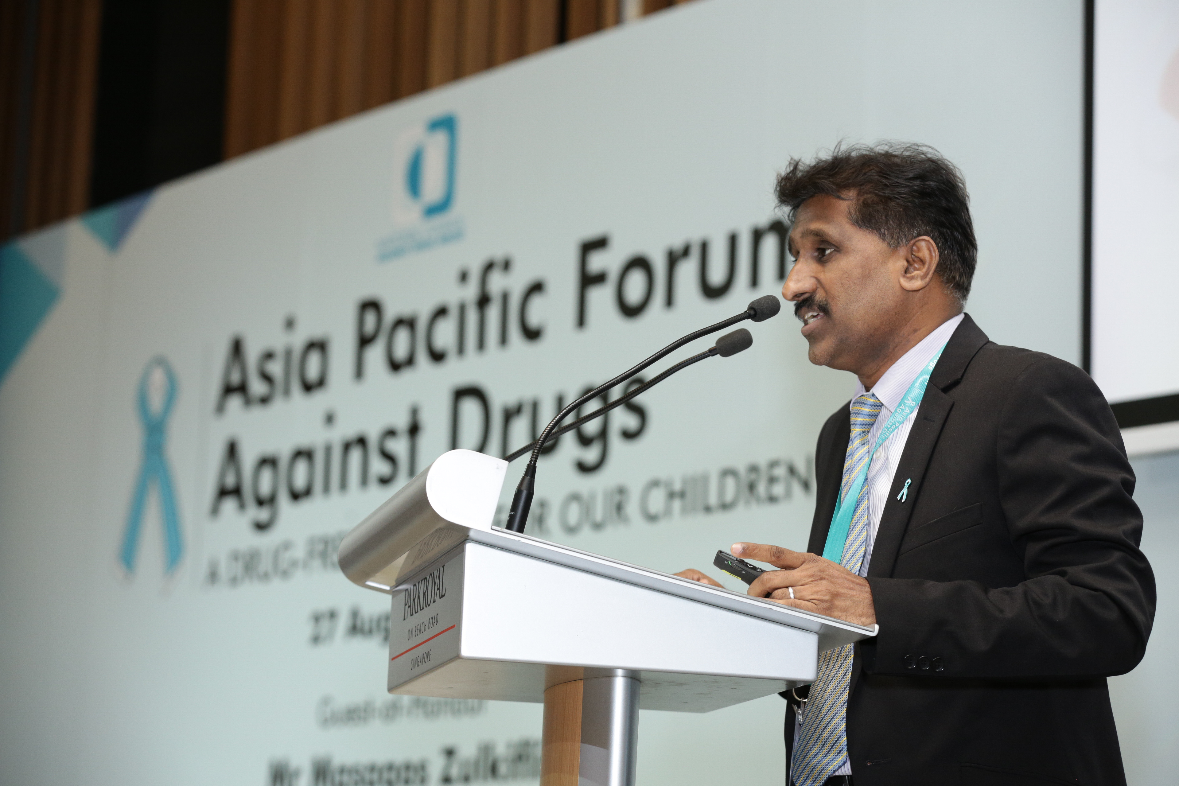 One of the speakers during the APFAD 2015