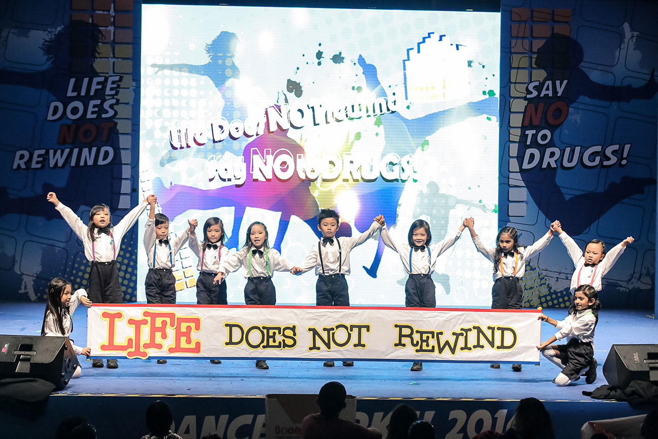 Participants from Danceworks! 2014