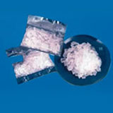 A photograph of methamphetamine